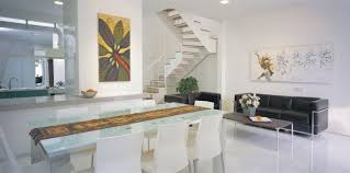 interior design from home contemporary white box house design interior home interior