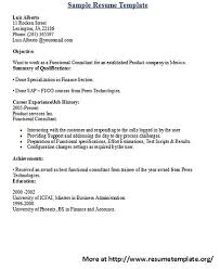 Summary In A Resume What Does A Resume Consist Of Resume Templates