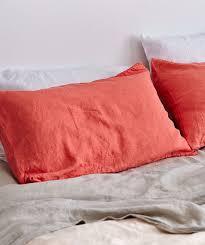 moss linen pillowslip set