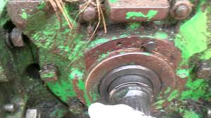 540 to 1000 pto shaft change on jd 4430 youtube
