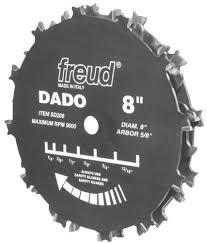 table saw blade width 6 vs 8 dado stacks the wood whisperer