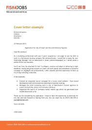 fish4jobs cover letter example