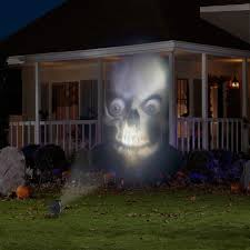 Decorating Your House For Halloween by Lightshow Animated Outdoor Projection Fade Steady White Projector
