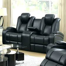 leather recliner theater seating coaster contemporary leather