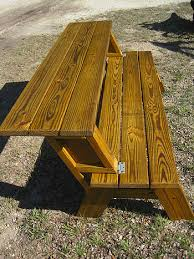 Plans For Picnic Table Bench Combo by Mission Benches U0026 Other Benches Made By Quality Patio Furniture