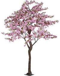 amazing deal on pink faux apple blossom tree 7 ft