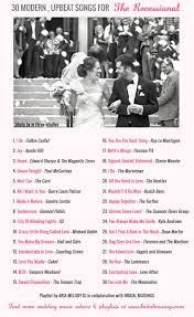 songs played at weddings wedding 30 modern upbeat recessional songs