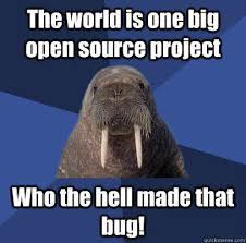 Walrus Meme - web developer walrus memes quickmeme