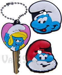 smurfs key caps smurfette papa smurf smurf key caps