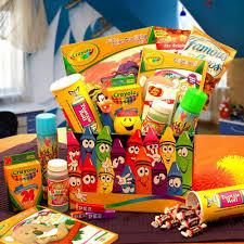 gift baskets for kids crayola kids gift box hayneedle