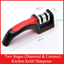 sharpening ceramic kitchen knives xyj two stages ceramic kitchen knife sharpener