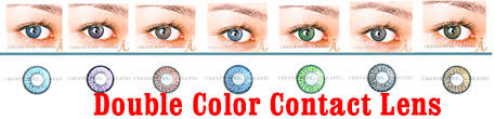 double green colored contacts pair g2 22 99 cheap colored