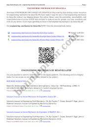 engineering mechanics by besavilla documents