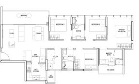 Singapore Floor Plan Sims Urban Oasis U2013 Showflat U2013 4 Bedroom Grand Floor Plan U2013 Buying