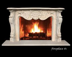 cantera stone and limestone fireplaces