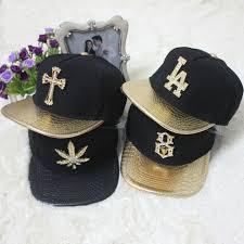 kid ink alumni hat metal golden brand baseball cap alumni kid ink fashion south side