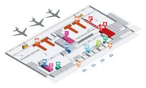 100 international airport floor plan terminal 3 of beijing