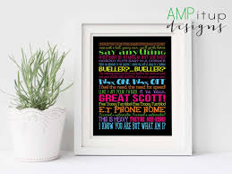 80s printable poster 80 u0027s printable 80s decor movie