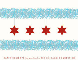 business cards chicago flag at minted