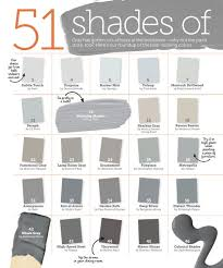 many shades of gray paint interiors by color