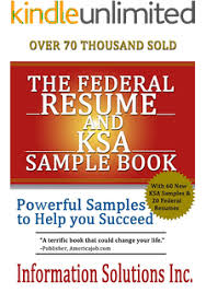 Ksa Resume Examples by Amazon Com The New Federal Ksa 60 Real Ksa Samples To Launch