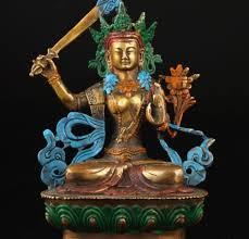 spiritual statues elaborate vintage collection tibetan spiritual brass buddha