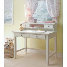 white desk with hutch and drawers naples white student desk and hutch homestyles