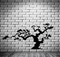 natural beauty style picsdecor com japanese bonsai tree nature decor japan island wall sticker vinyl