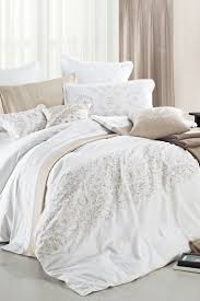 bedding set white and gold bedding livesthrough bedding