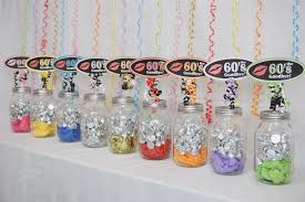 Vintage Birthday Decorations 70th Birthday Decoration Available In 9 Colors 70th Candy