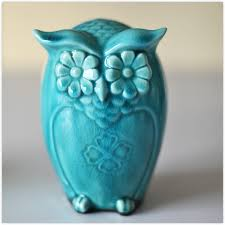 owl glaze gloss in ceramic decoration craft ornament