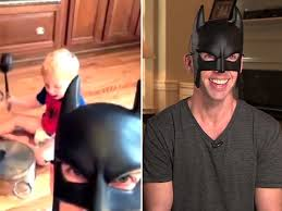 halloween mask vine batdad protects suburbs from bad manners in amazing vines today com
