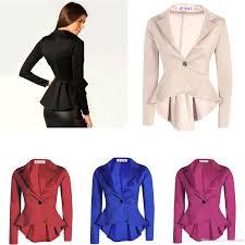 2017 autumn winter women s girls leisure fashion long blazer