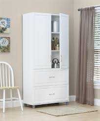 Two Door Cabinets Dorel Kendall White Stipple Two Drawer Two Door Cabinet