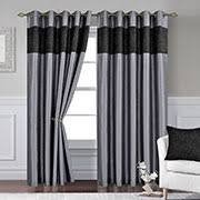Silver Black Curtains Eyelet Curtains Cheap 66x90 And 90x90 Eyelet Curtains