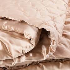 Cotton Quilted Bedspread Mulberry Silk Quilted Bedspread 100 Silk The Wool Co