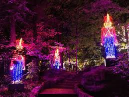 Rock City Garden Of Lights Experience The Enchanted Garden Of Lights In Rock City