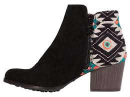 s country boots sale desigual black indian country boots and booties s shoes
