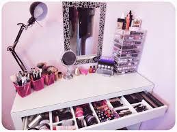 my makeup obsession my dressing table setup the ikea malm