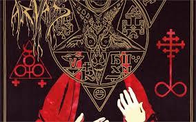 Occult Home Decor Canvas Painting Cuadros Decoracion Cuadros Top Evil