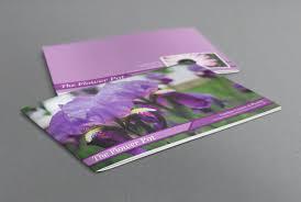 bi fold brochure template publisher elegant indesign brochure