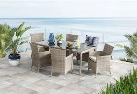 Outdoor Furniture Joondalup - barbosa 7 piece outdoor setting amart furniture