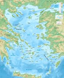 Map Of Mediterranean Sea Turkish Topography Description Aegean Sea Map Bathymetry Fr Jpg