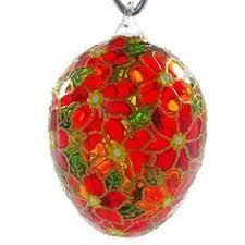 glass easter egg ornaments april blown glass easter egg ornament by holidaygiftshops on