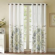 park kiely floral watercolor window curtain 50 u0027 u0027 x 84 u0027 u0027