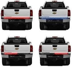 led lights for pickup trucks danti 60 red white tailgate led strip light bar truck reverse brake