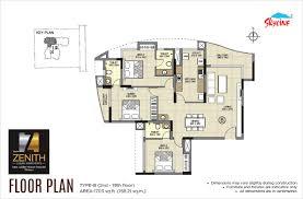 zenith floor plan skyline zenith