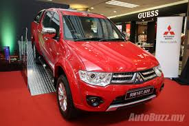 mitsubishi triton 2013 mitsubishi triton gets a new look in malaysia vgt gs priced at