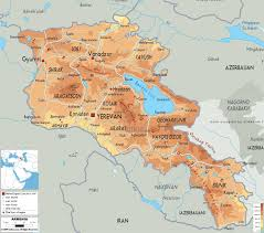 Caucasus Mountains World Map by Worldrecordtour Asia Middle East Caucasus Armenia Yerevan