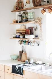 kitchen best kitchen shelves ideas on pinterest open shelving